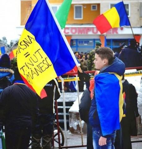 Cosmin, băiatul cu Tricolorul, i-a invitat pe toţi românii la Sfântu Gheorge, cu ocazia Zilei Unirii Principatelor Române Unite