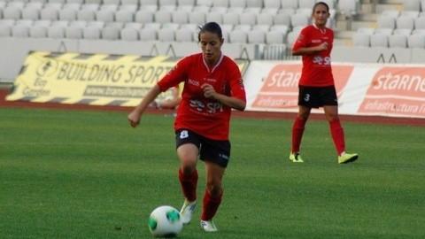 Ștefania Vatafu e cea mai bună fotbalistă din România