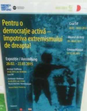 Ruşine! Centrul Cultural German Cluj aruncă crucea creştină la gunoi