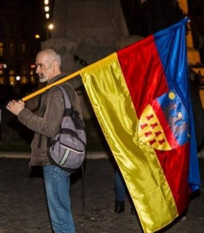 Apel la istorie în cazul steagului Transilvaniei