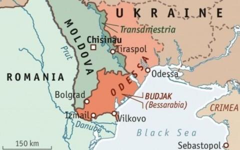 """O nouă enclavă separatistă. Cu sprijinul Rusiei """"Republica Populară a Basarabiei"""" vizează gurile Dunării"""