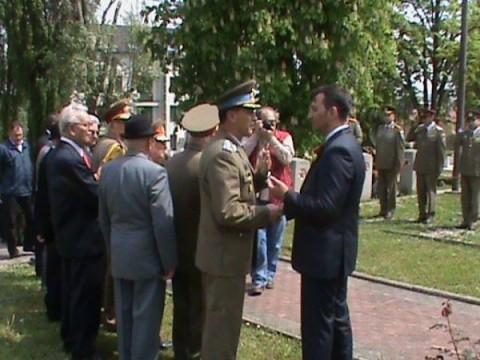 Clujul a sărbătorit astăzi 70 de ani de la eliberarea Europei de armata lui Hitler