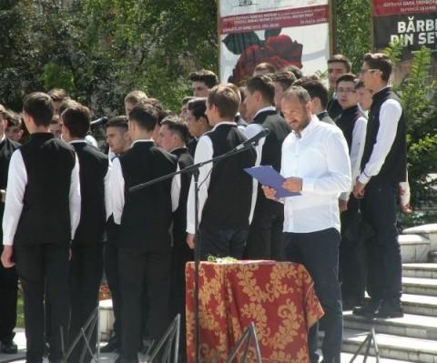 [FOTO] Comemorarea clujeană a lui Mihai Eminescu