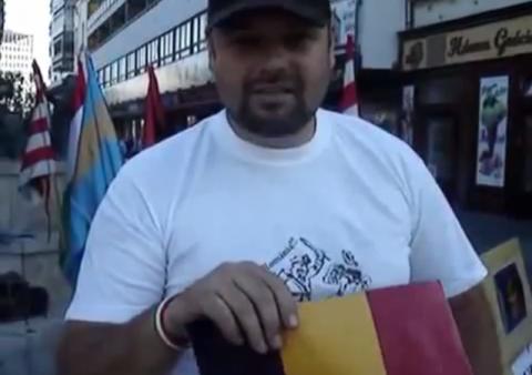 În ţara condusă de sasul Klaus Iohannis, ungurul Csibi Barna batjocorește iar Tricolorul: E inimaginabil (Video)
