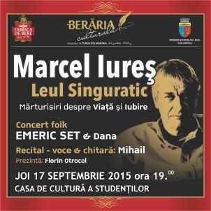 """Marcel Iureș în """"Leul singuratic"""" la Cluj-Napoca"""