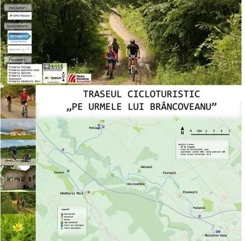 100 de cicloturiști pe urmele lui Brâncoveanu