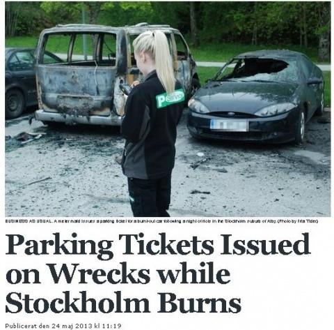 Spălați pe creier! Imaginea care ne arată cât înțeleg suedezii din ceea ce se întâmplă