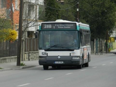 Reţea de benzi dedicate pentru transportul în comun amenajată la Cluj-Napoca