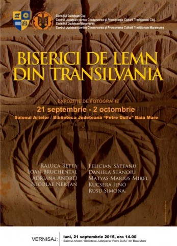 """Vernisaj expoziţie fotografie """"Biserici de lemn din Transilvania"""""""