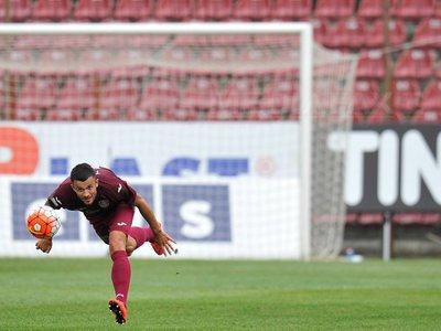 CFR Cluj a învins FC Viitorul II, scor 1-0, şi s-a calificat în sferturile Cupei României