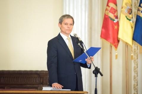 """""""Ateul"""" Cioloş nu şi-a făcut Cruce şi nu a jurat pe Biblie la investirea de la Cotroceni"""