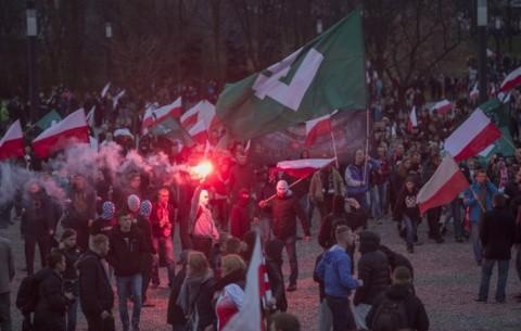 Cea mai mare demonstraţie antimusulmană din istoria Poloniei, ignorată de presă (Foto)