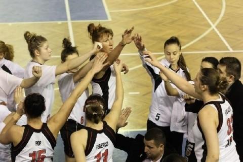 Performnață pentru baschetbalistele de la Universitatea