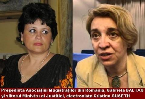 """Gabriela Baltag, preşedinta Asociaţiei Magistraţilor:""""Specialistul de la Justiţie nu are nici măcar studii juridice? Foarte trist, foarte!"""""""