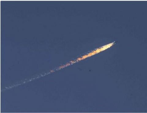Incident grav: Bombardier rusesc doborât de Turcia la granița cu Siria!