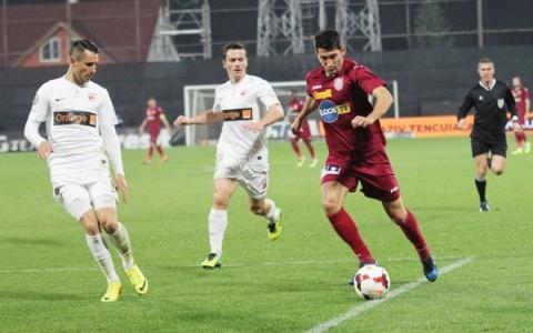 CFR – Dinamo, câte un punct pentru fiecare