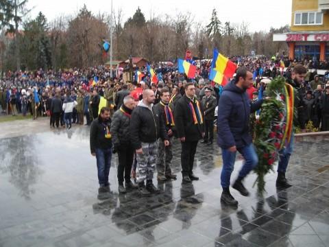 Partidul Noua Dreaptă a fost din nou alături de românii din Covasna de Ziua Naţională