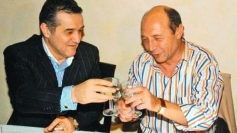 """Becali, despre o posibilă alianţă politică cu Băsescu: """"Să învețe Crezul și Psalmul 50 și după aceea ne întâlnim"""""""