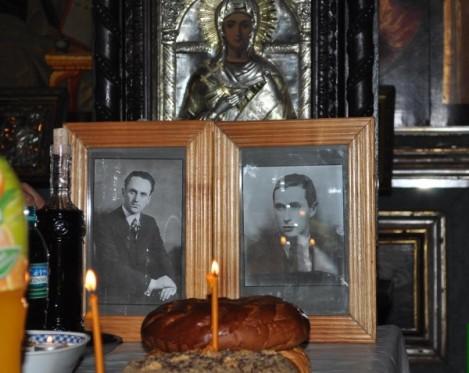 Pomenirea eroilor anticomunişti Moţa şi Marin la Bucureşti