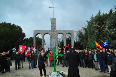 Legionarii Moţa şi Marin, căzuţi pe frontul anticomunist din Spania, au fost comemoraţi de spanioli şi români