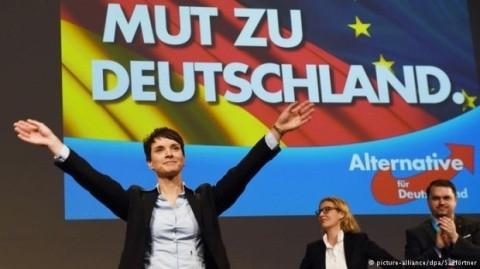 Extrema dreaptă din Germania a ajuns pe locul doi în sondaje