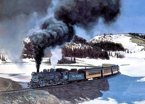 Poemul Zilei: Trenul