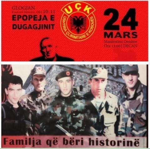 """Un islamist UCK amenință un naționalist român. Bogdan Diaconu îi răspunde: """"Nu mi-e frică nici de teroriști, nici de amenințări, nici de islamiști!"""""""