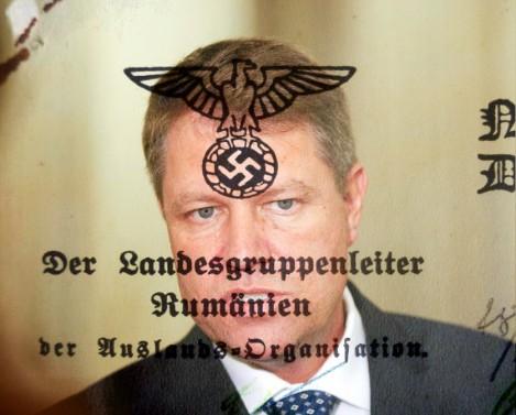 Un nazist antifascist. Scrisoare deschisă preşedintelui Iohannis