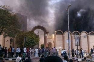 Violențe extreme. Sute de musulmani au incendiat casele unor creștini ortodocsi în Egipt