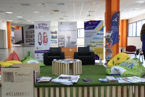 "Inaugurarea primei biblioteci din Aeroportul Internațional ""Avram Iancu"" – Cluj-Napoca"