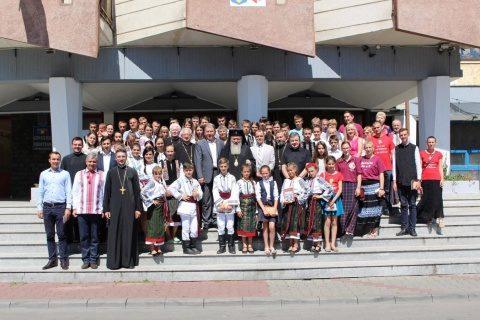 IPS Andrei, s-a întâlnit cu grupul de copii din Cernăuți