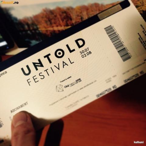 Bilete false pentru Festivalul Untold. Aveţi grijă!