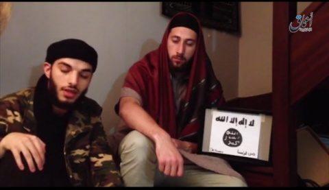 Statul Islamic a publicat imagini cu teroristii de la biserica din Franţa (Foto)