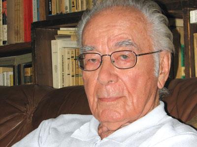 """Filosoful Mihai Şora, umilit la Ambasada SUA: """"Aveţi loc de veci?"""""""