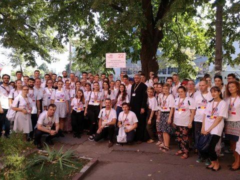 ÎPS Andrei s-a întâlnit la București cu tinerii din delegația Arhiepiscopiei Clujului participanți la #ITO2016