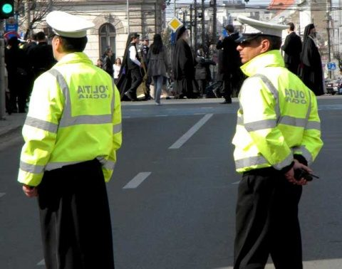 70 de polițiști locali în dispozitiv cu ocazia Luminației