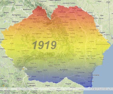 harta_romania_mare_1919
