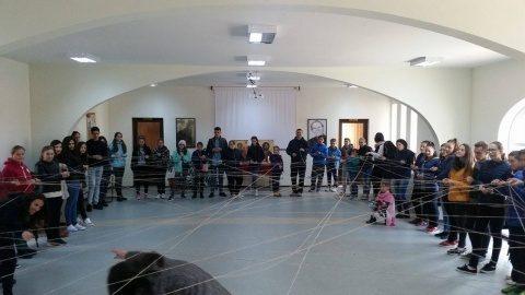 """""""O zi trăită din plin"""", la centrul ortodox pentru tineret din Sîngeorz-Băi"""