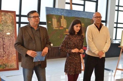 Florin Piersic: Tânăra Amalia Crișan este o artistă extraordinară. Expoziția ei de pictură este deschisă la Cinema Florin Piersic