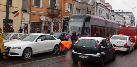 Se modifică programul de circulație a tramvaielor