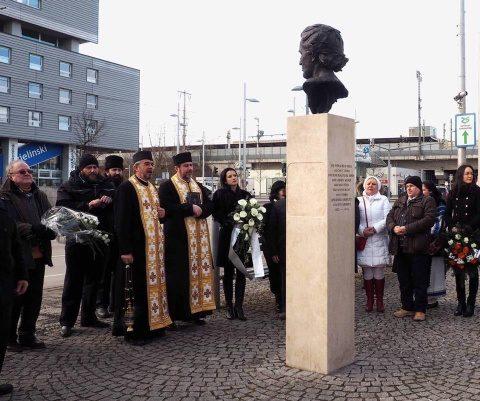 Ceremonii religios-culturale dedicate poetului Mihai Eminescu, la Viena