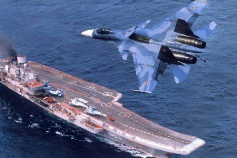 Putin retrage portavionul Amiral Kuzneţov din Mediterana după victoria din Siria