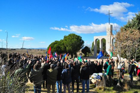 Majadahonda 2017. Comemorarea a 80 de ani de la jertfa lui Mota si Marin. Nationalisti din toata Europa s-au adunat la Madrid