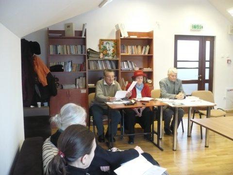 """La cenaclul """"Radu Stanca"""": Medalionul literar """"Trei poeți în slujba culturii naționale-M.Eminescu, Alexei Mateevici și Radu Gyr"""""""