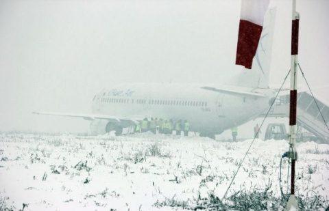 Cod galben de ninsori și viscol la Cluj
