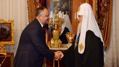 Dodon cere un sinod panortodox la Chișinău