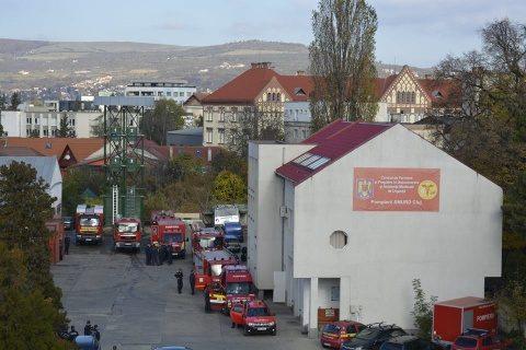 Aproape 18.000 de intervenții a avut ISU Cluj în 2018