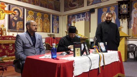 """Românii din Spania i-au celebrat pe Valeriu Gafencu și Pr. Gheorghe Calciu. Sfântul Închisorilor este """"un sfânt popular, care a fost canonizat deja de neamul românesc"""""""