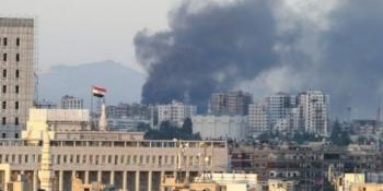 Ambasada rusă la Damasc a fost atacată cu obuze