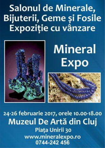 Salonul de Minerale, Bijuterii, Geme și Fosile – Mineral Expo CLUJ